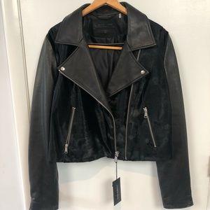 Andrew Marc x Richard Chai Leather Jacket